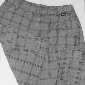 Boys size 5 Hurley Bermuda shorts